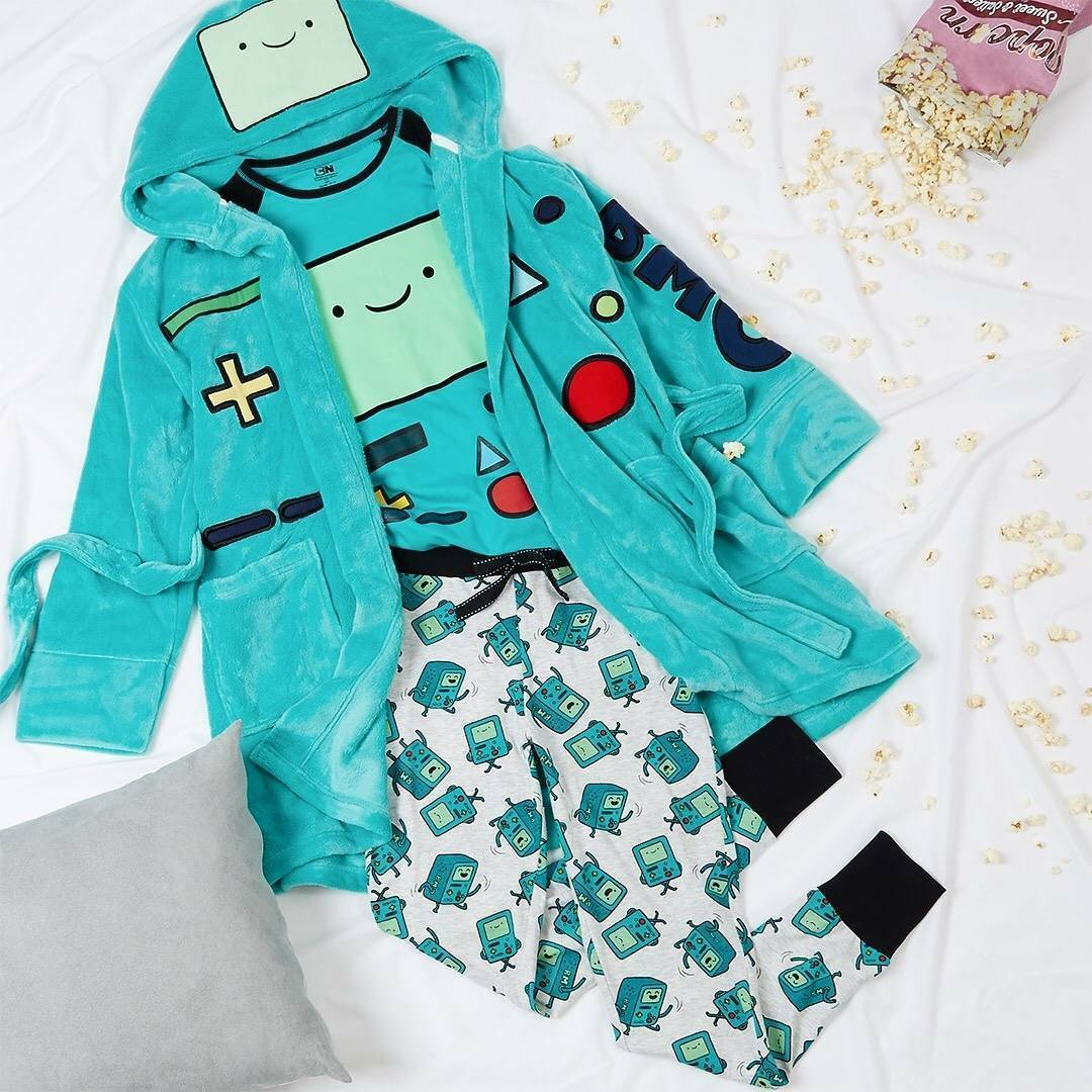 LADIES ADVENTURE TIME T Shirt Pyjamas Dressing Gown Primark Womens ...