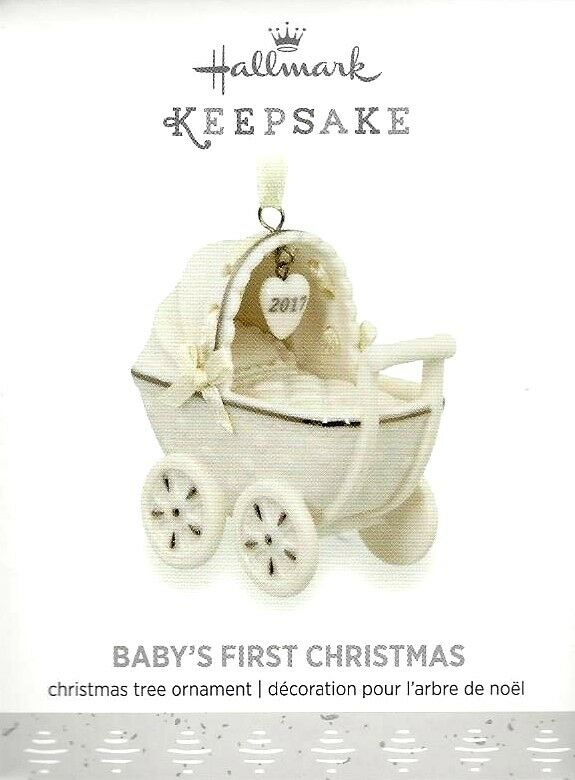 hallmark 2017 babys first christmas ornament 1 of 1only 0 available