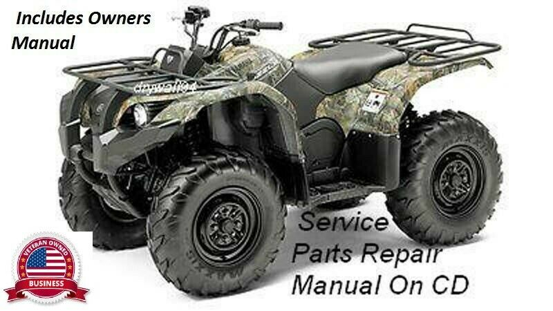 2007 2009 yamaha grizzly 550fi 700fi oem owners manual service rh picclick com 2012 yamaha grizzly 700 service manual 2012 yamaha grizzly service manual
