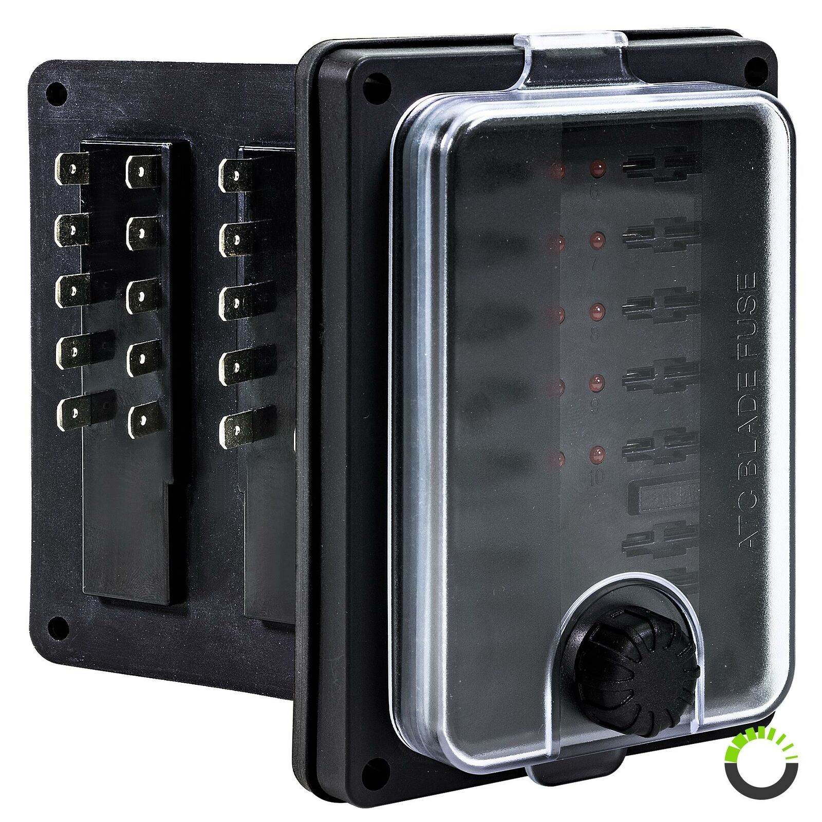 Boat Fuse Box Wiring Schematic 2019 2004 Isuzu Axiom Location 10 Way Waterproof Blade Holder Block Atc Ato For Car Rh Picclick Com Ranger Replacement