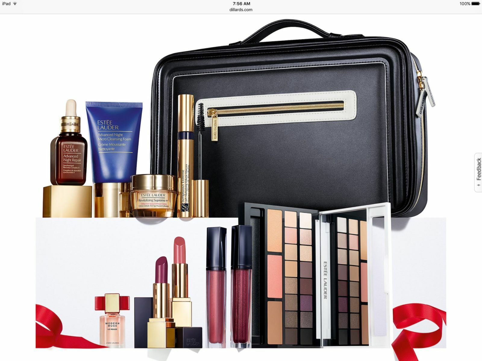 2016 Estee Lauder Holiday Blockbuster Makeup Kit Limited Gift Set Smoky Bold NEW • $89.75