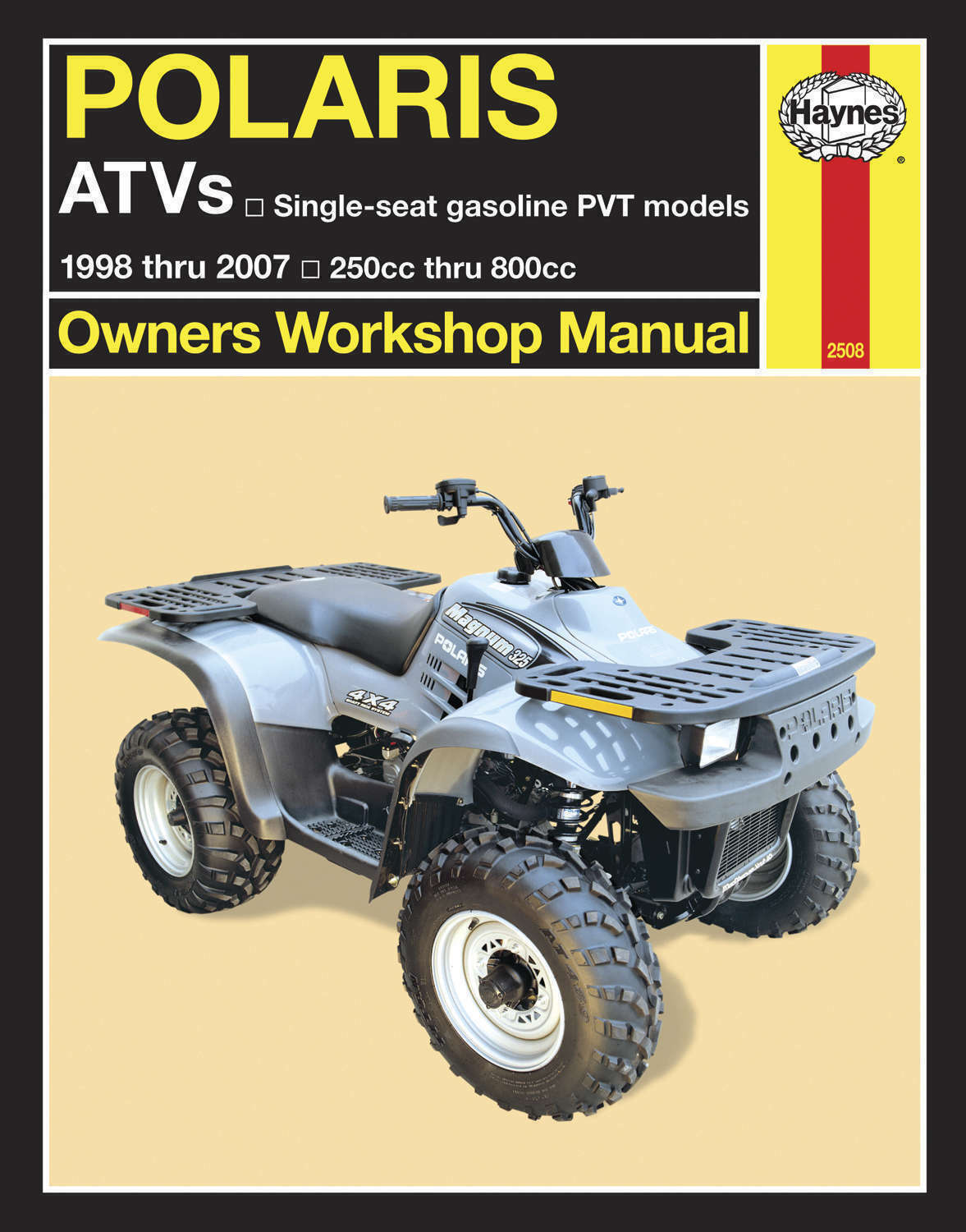 Haynes Service Manual Polaris Atp 330 500 4X4 2004-05 & 330 4X4 Quad 2005 1  of 1FREE Shipping ...
