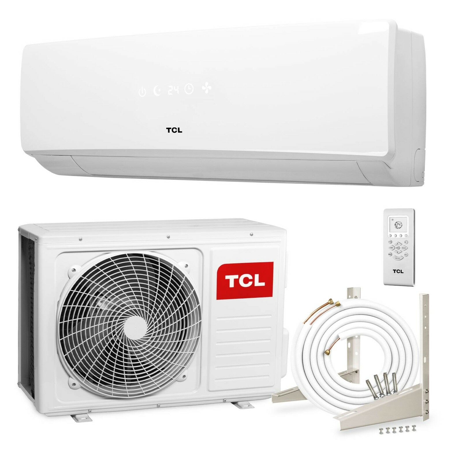 tcl inverter split klimaanlage 24000 btu 6 4kw klima klimager t modell ka eur 999 00. Black Bedroom Furniture Sets. Home Design Ideas