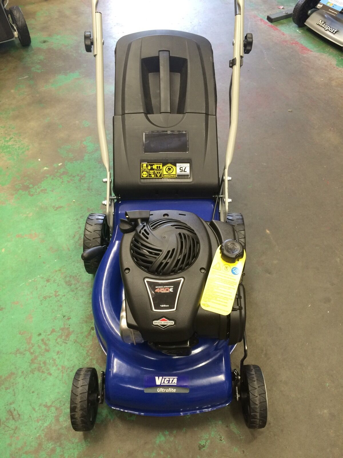 how to start victa lawn mower briggs and stratton