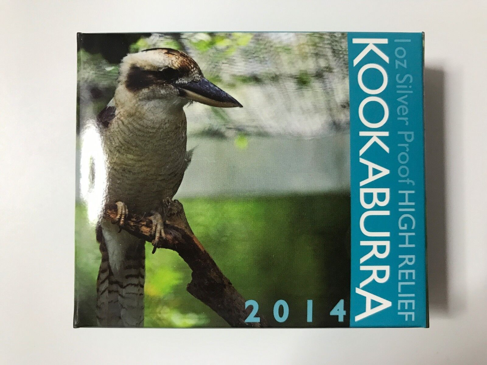 2014 Australian High Relief Proof Kookaburra 1 Oz 999
