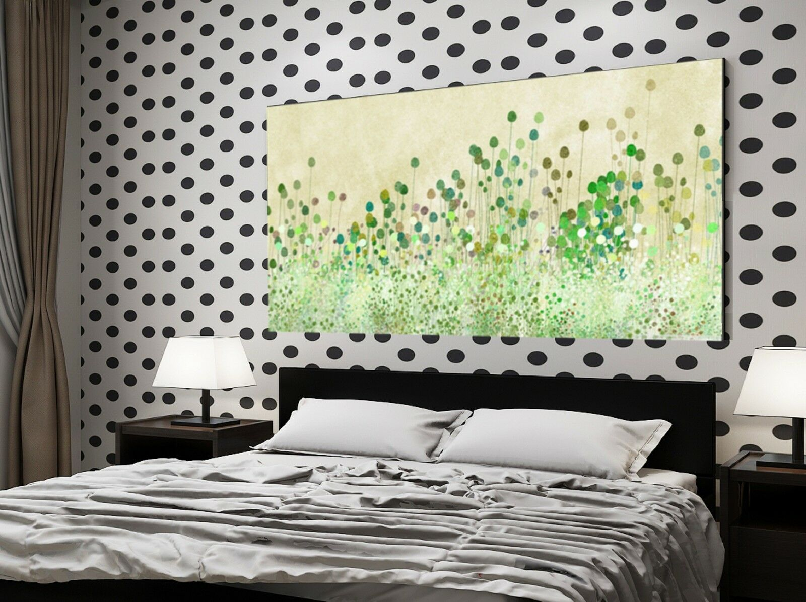 xxl panorama leinwand 150x85x5 gras natur bild gem lde vintage ikea floral eur 89 99 picclick de. Black Bedroom Furniture Sets. Home Design Ideas