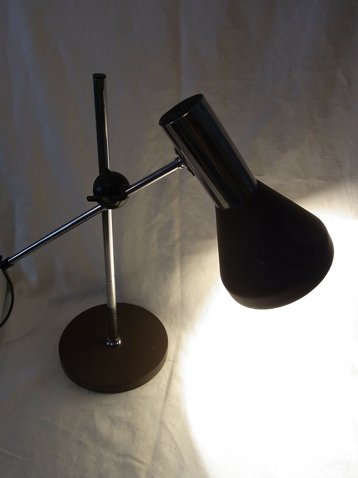 sch ne 70er tisch lampe desk lamp mid century lamp eur 69 99 picclick de. Black Bedroom Furniture Sets. Home Design Ideas