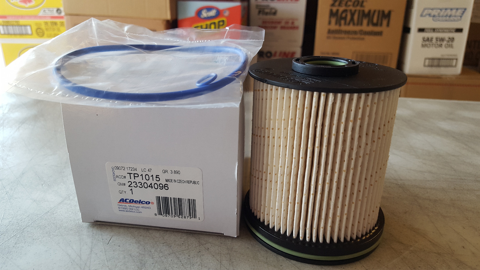 Ac Delco Professional Tp1015 Duramax Fuel Filter Kit 2017 2018 2007 Chevy 2500hd 1 Of 4free Shipping