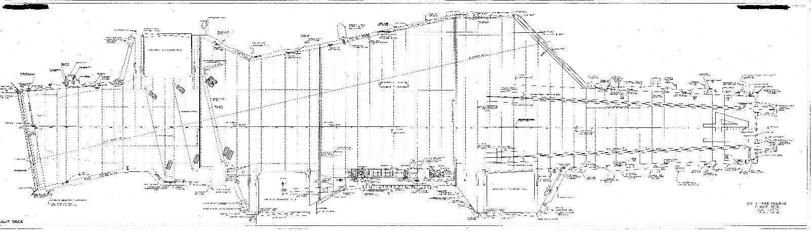 Uss midway blueprint plans aircraft carrier drawings period detail 1 of 7 see more malvernweather Images