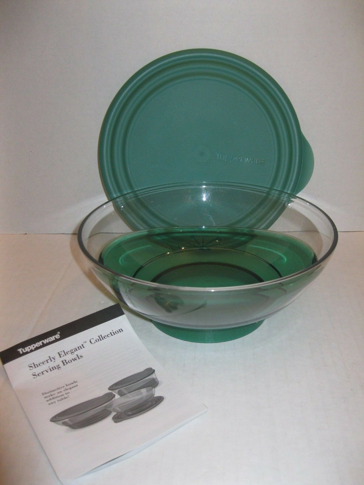 Tupperware Sheerly Elegant Acrylic 15 L Serving Bowl Green 6 1 Eleganzia 600ml 4 Set Of 4only Available