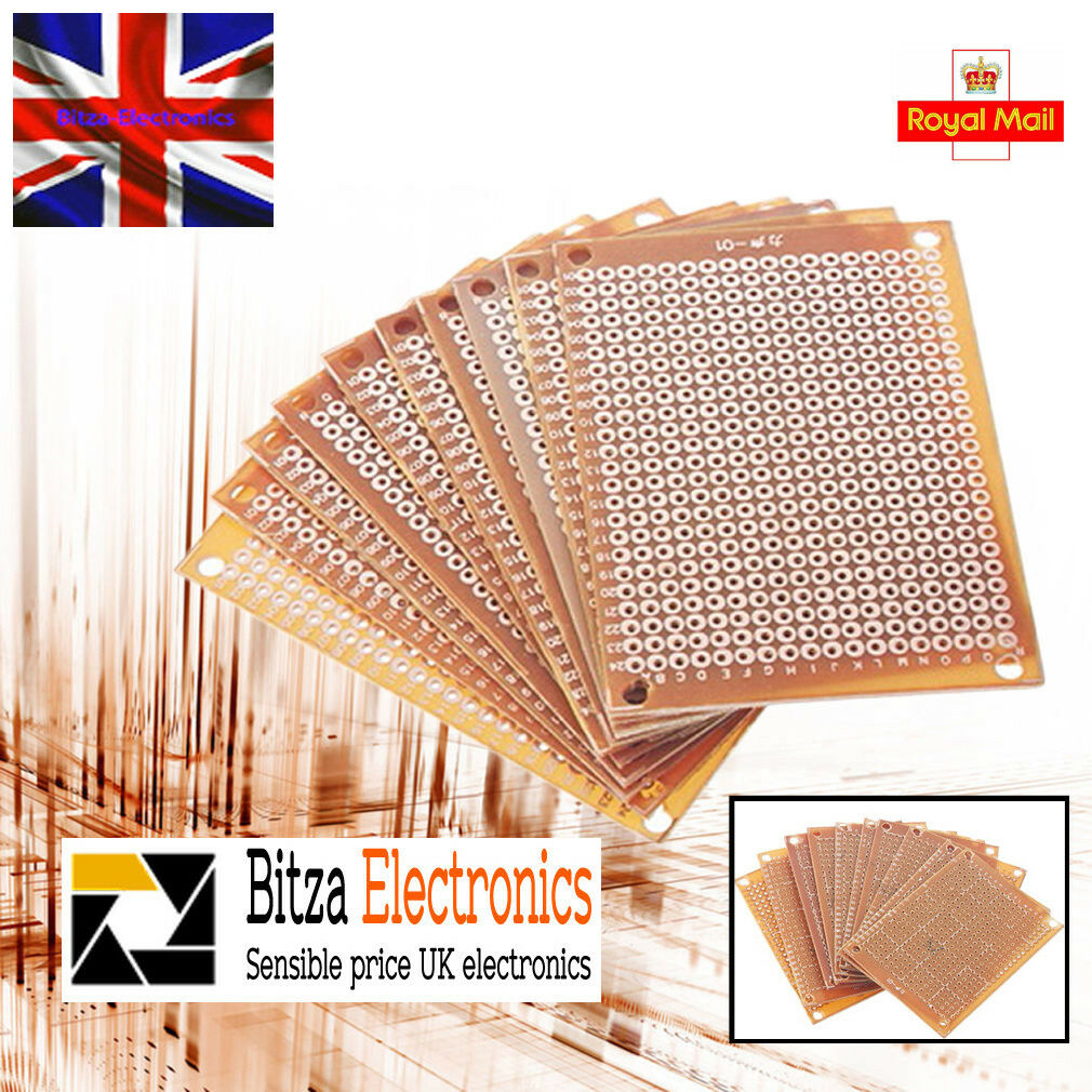 10xdiy Single Side Copper Pcb Universal Experiment Matrix Circuit Soldering Prototype Printed Board 50x70mm 2 Ebay 10x Diy Paper 5 X 7 Uk 1 Of