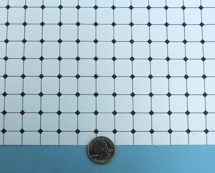black and white diamond tile floor. contemporary tile dollhouse miniature black u0026 white diamond pattern paper tile flooring  swp506 1 of 2only 3 available  with and floor e