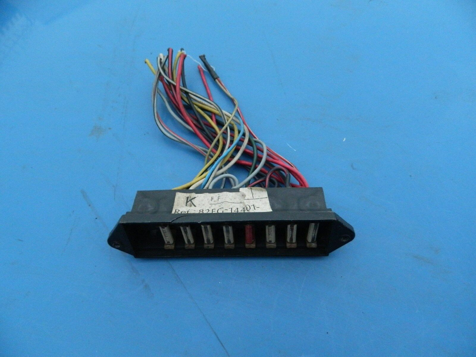 Ford Fiesta Mk1 Fuse Box Cut From Car 1 of 3Only 1 available ...