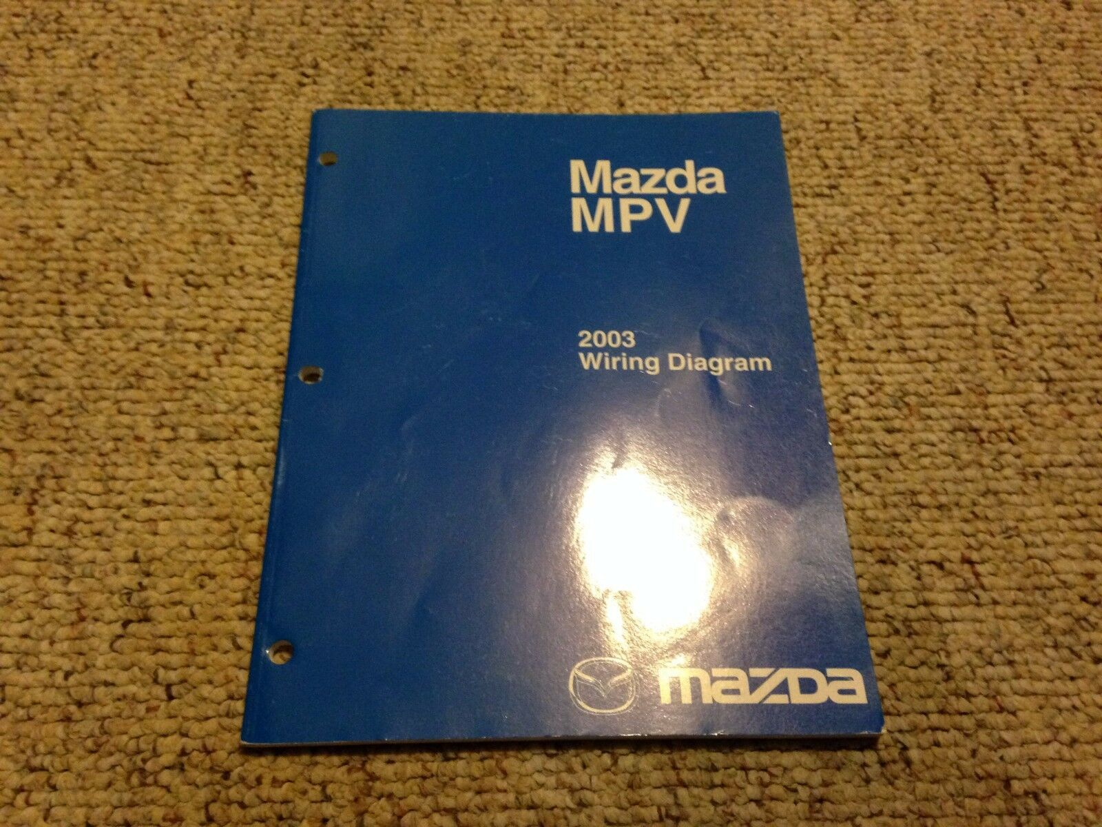 2003 Mazda MPV Factory Original Electrical Wiring Diagram Manual Book 1 of  1Only 1 available ...