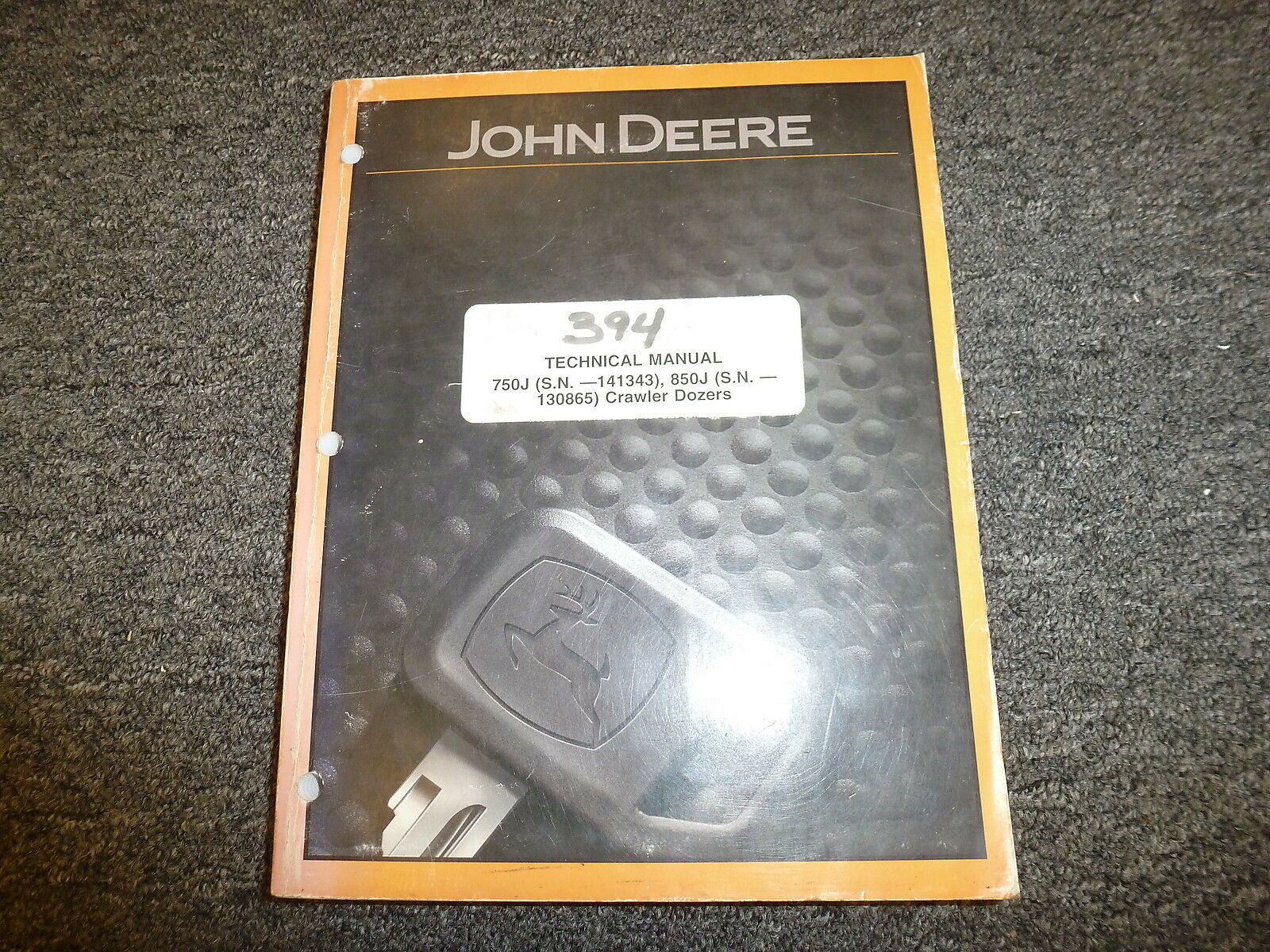 John Deere 750J & 850J Crawler Dozer Shop Service Repair Technical Manual  TM2261 1 of 1Only 1 available ...