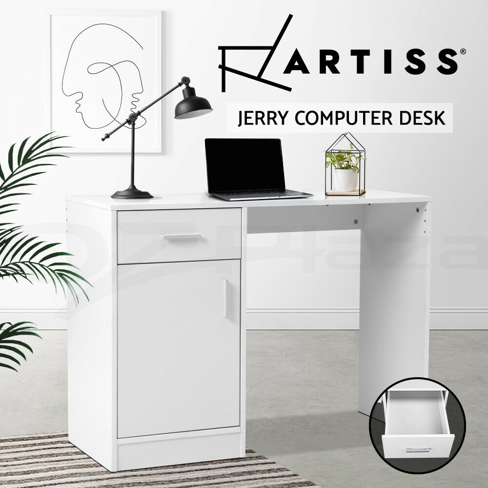 Artiss Computer Desk Office Storage Pc Laptop Student Study Home Writing Table 1 Of 9free See More