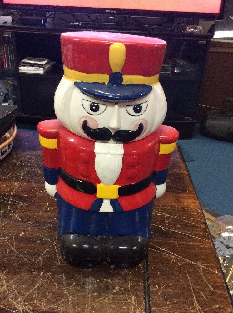 christmas cookie jar toy soldier 1 of 2 - Christmas Soldier