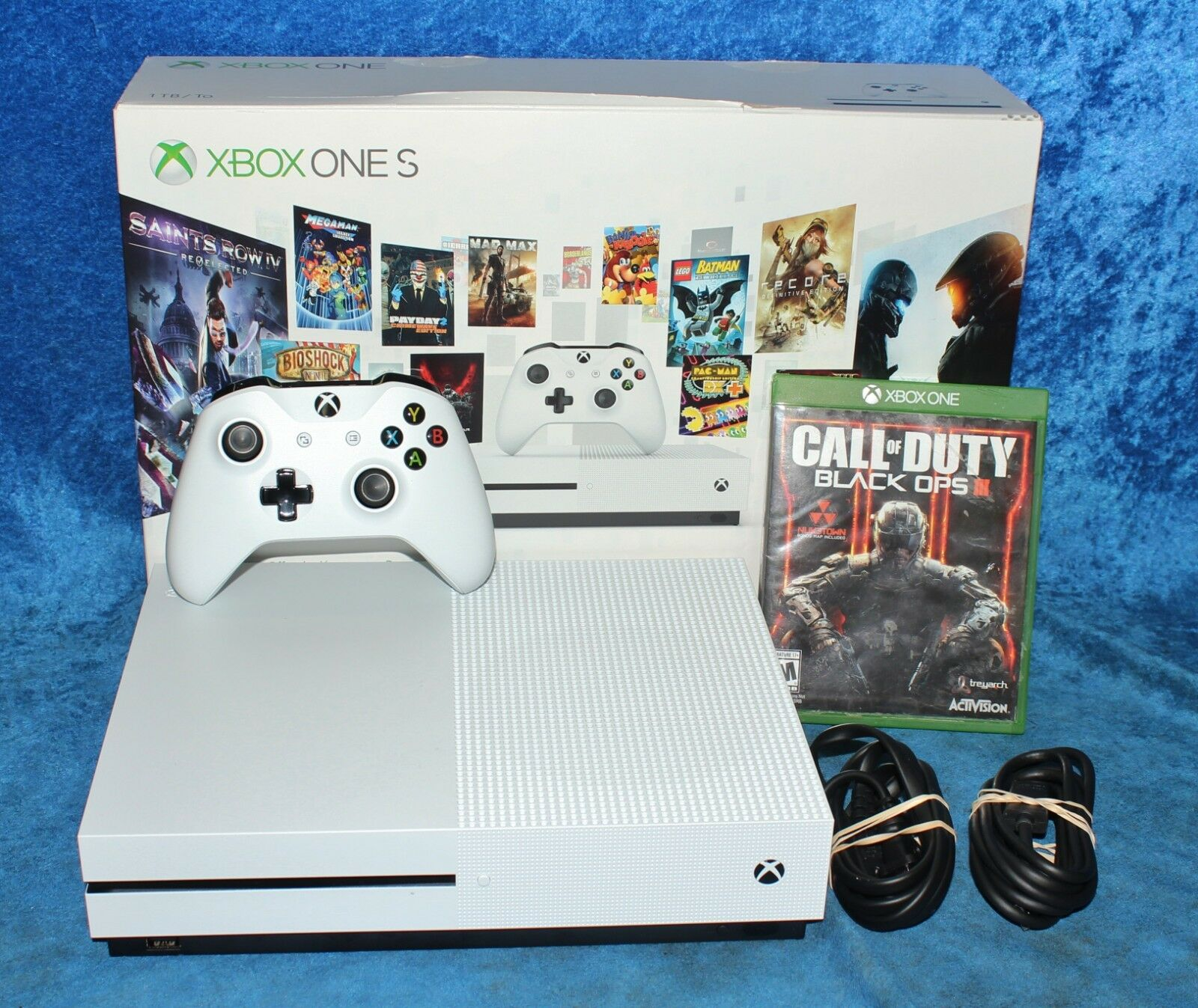 Microsoft Xbox One S 1 Tb Video Game Console White 1681 W Cod Black Sony Playstation 4 Ps4 Call Of Duty Limited Edition Non Dvd 12only Available