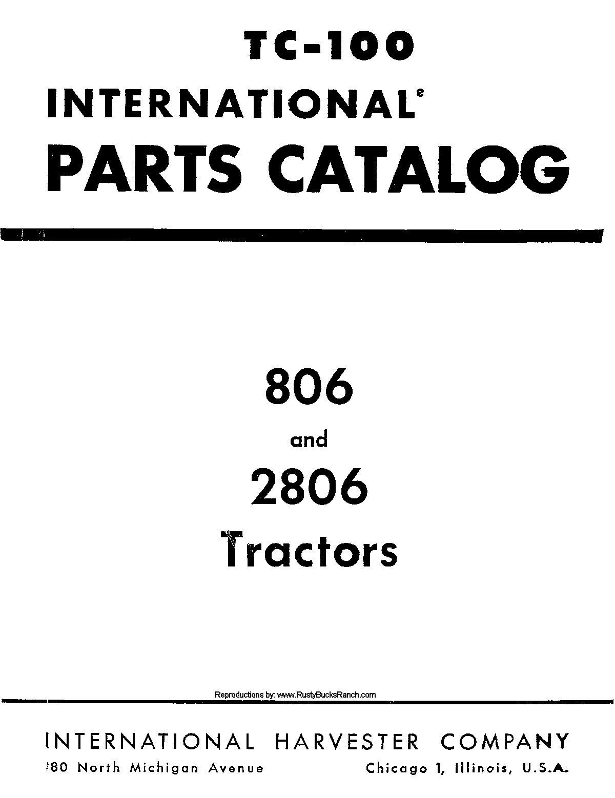 International Harvester Parts : Ih international harvester parts catalog
