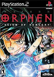 Orphen: Scion of Sorcery  (Sony PlayStation 2, 2000)-vg