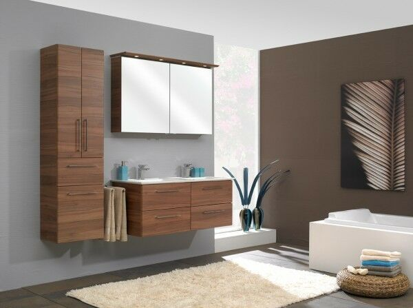 pelipal badm bel sonic 120 cm breit doppelwaschtisch inkl hochschrank. Black Bedroom Furniture Sets. Home Design Ideas