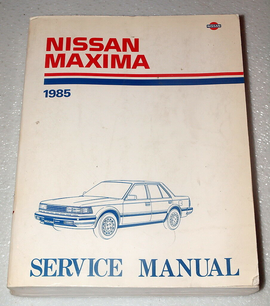 1985 NISSAN MAXIMA Factory Dealer Shop Service Repair Manual Sedan Wagon SE  GL 1 of 1Only 1 available ...