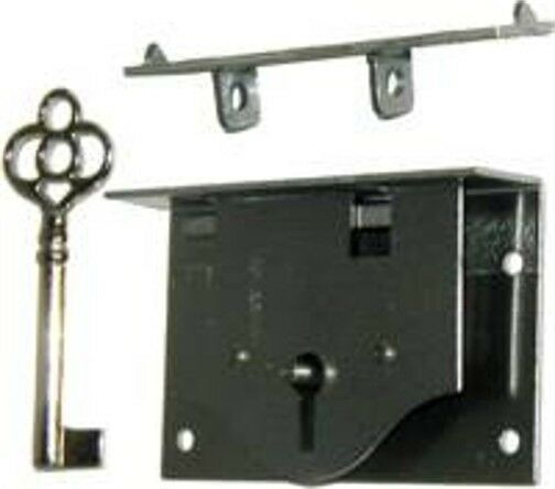 Half Mortise Chest Lid Lock with Key  M1808