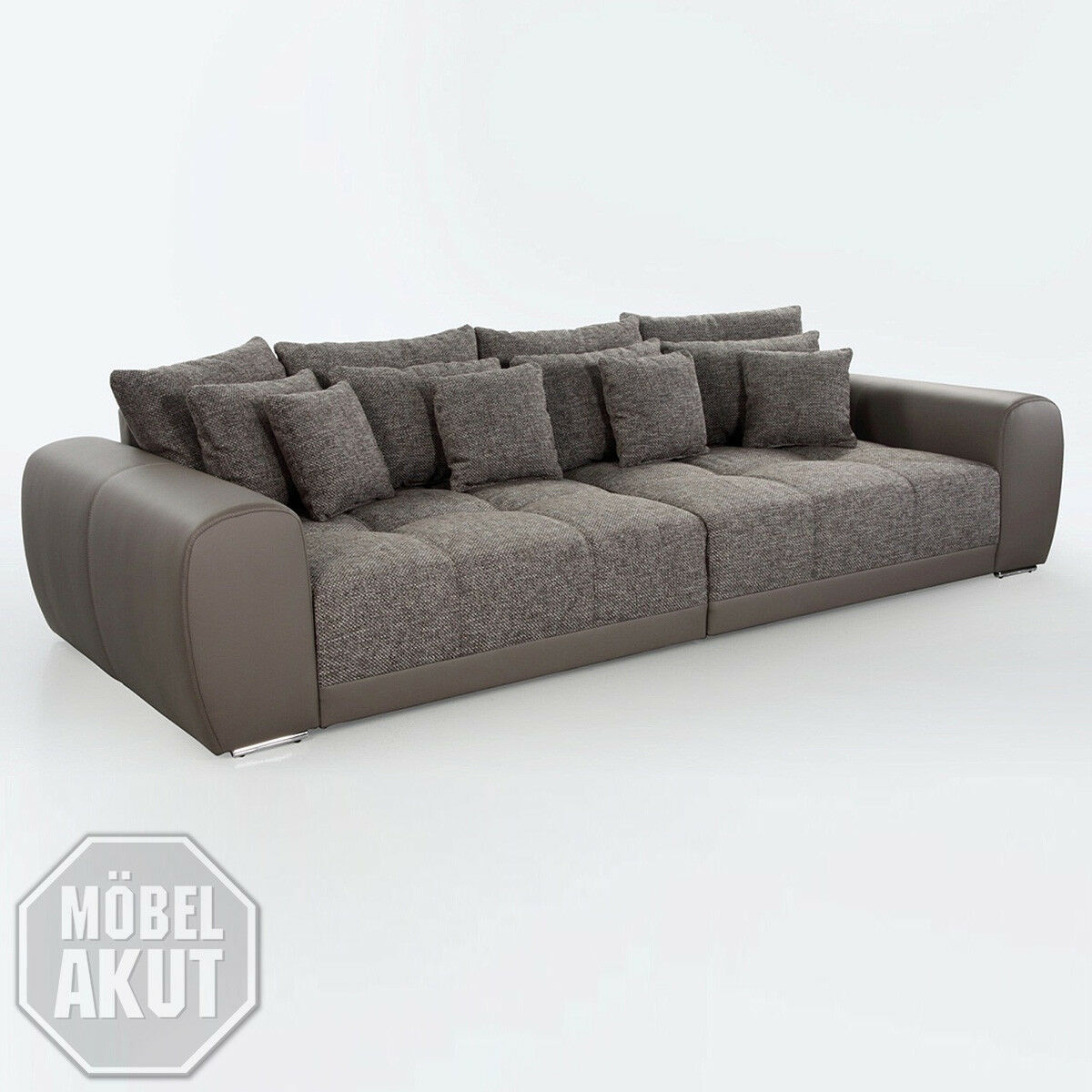 BIG SOFA SAM Polstermöbel XXL Sofa in Elefant Schlamm 310 - EUR 799 ...