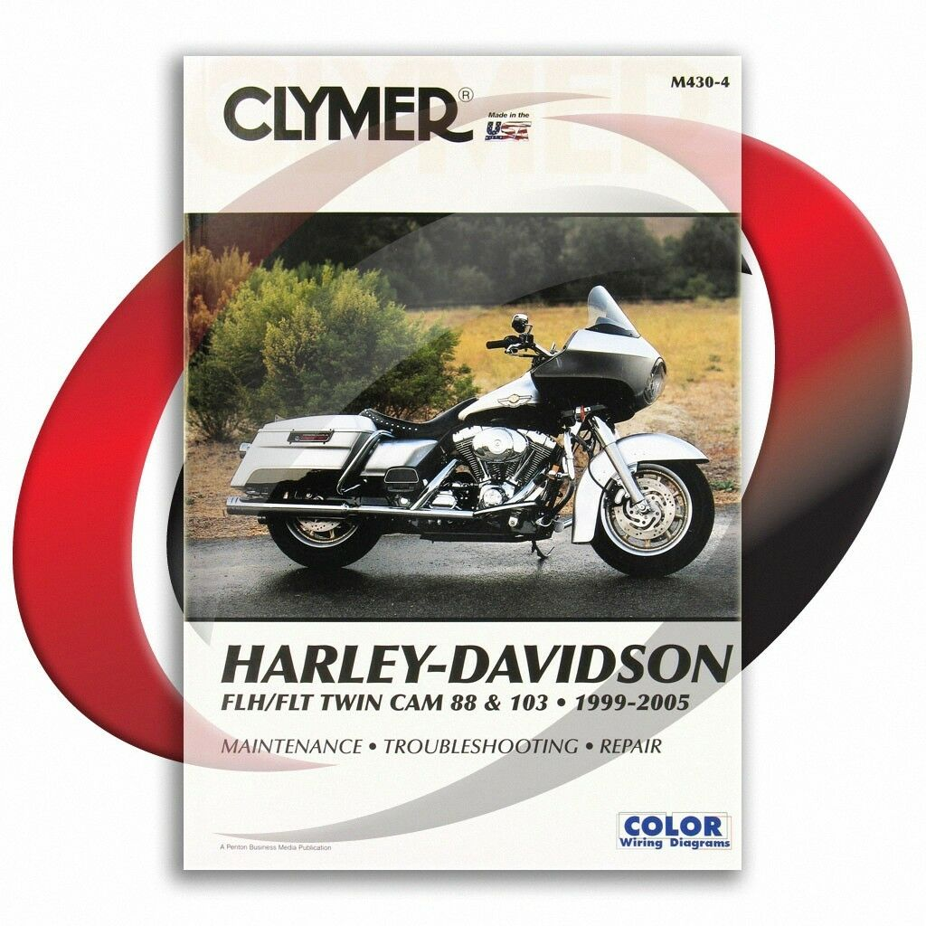 2004 2005 Harley Davidson Flhrs Flhrsi Road King Custom Repair Fuse Box Manual Clymer 1 Of 1only 2 Available
