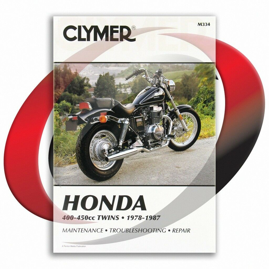 1986-1987 Honda CMX450C Rebel Repair Manual Clymer M334 Service Shop Garage  1 of 4FREE Shipping ...