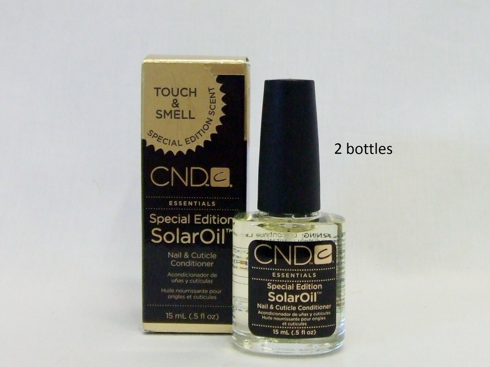 Cnd Creative Nail Design Cuticle Solar Oil 5oz Special Holiday 2ct