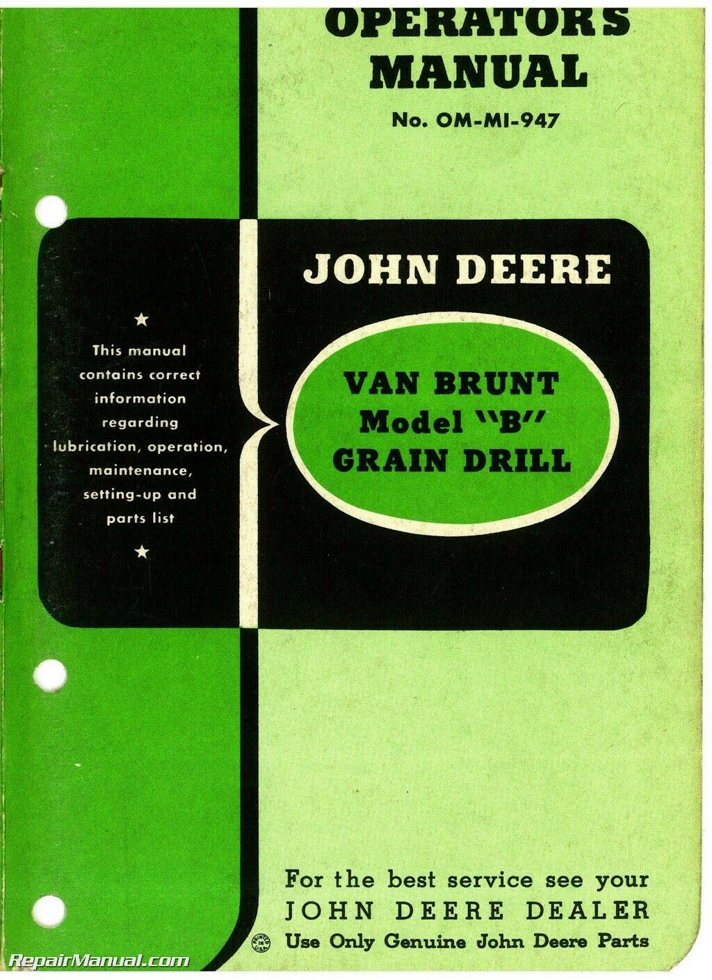 John Deere Van Brunt Model B Grain Drill Operators Manual Parts. John Deere Van Brunt Model B Grain Drill Operators Manual Parts 1 Of 1only 4 Available. John Deere. 1949 John Deere B Transmission Diagram At Scoala.co