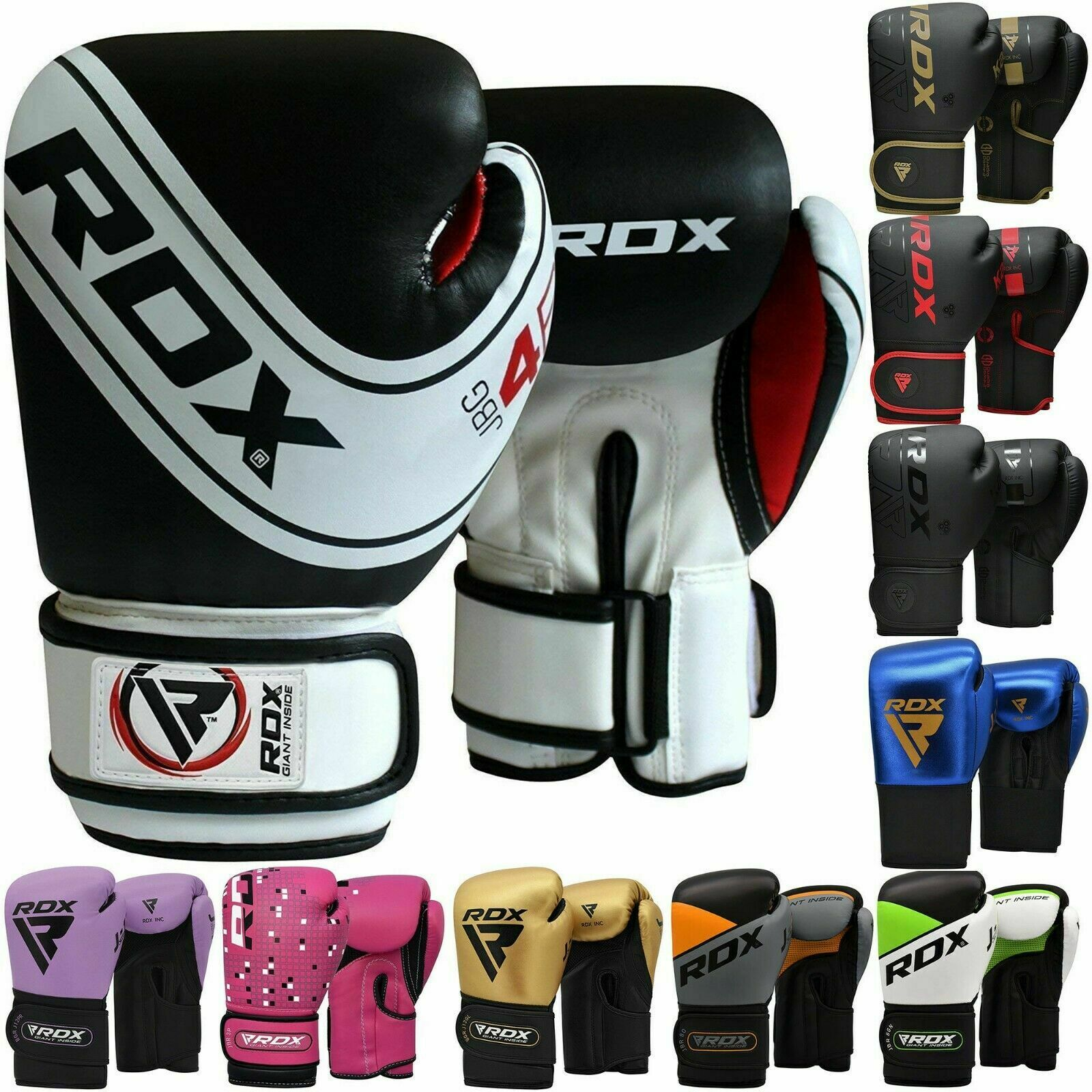 Rdx Kids Boxing Gloves Junior Punching Bag Mitts Mma Muay Thai Training Sparring 1 Of See More