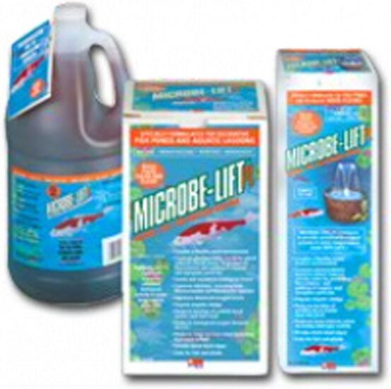 32 oz microbe lift pl 1 koi pond clarifier bacteria for Airlift koi pond