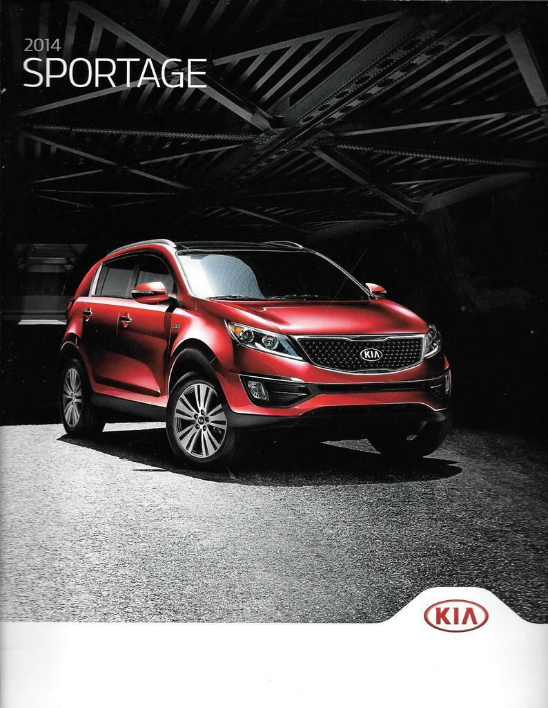 2014 14 KIA Sportage original sales brochure 1 of 1Only 1 available ...