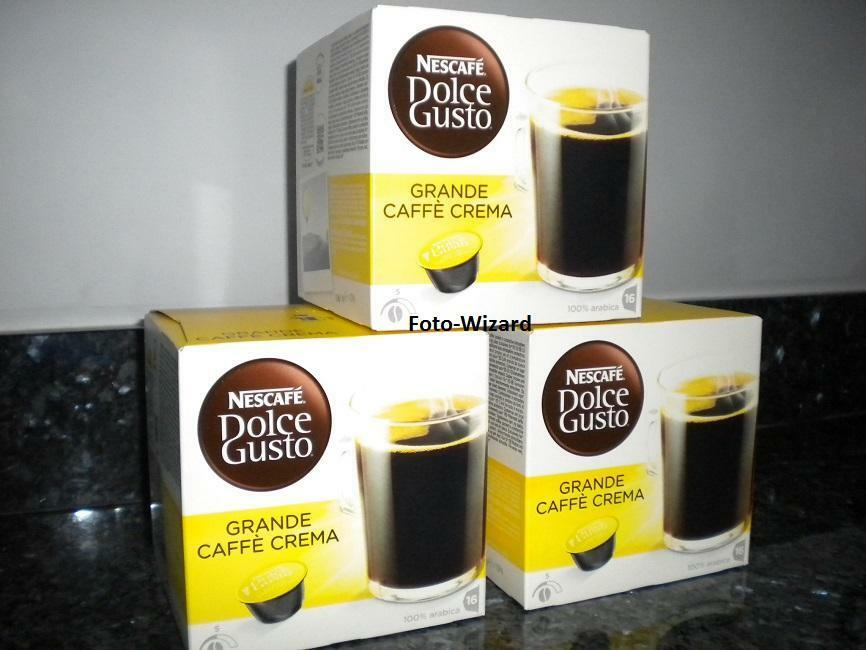 Nescafe Dolce Gusto 48 Grande Pods 3 X 16 Coffee 3 Boxes