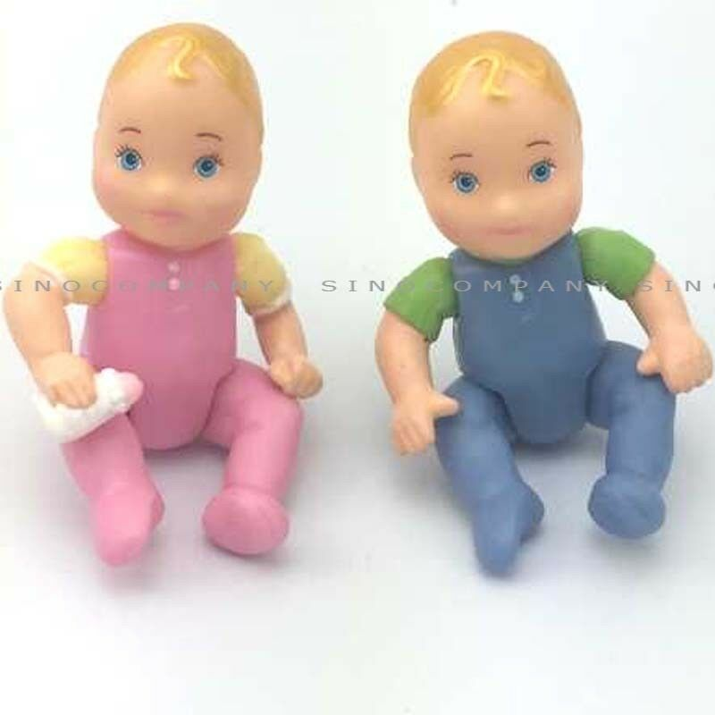Toys For Twins : Pcs fisher price loving family for dollhouse twin baby