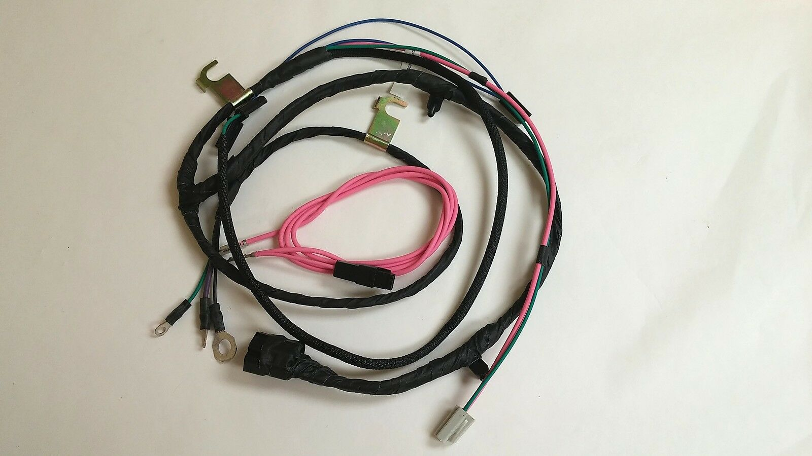 1 of 6Only 1 available 1963 Chevy Pickup Truck Engine Wiring Harness HEI V8  Factory Gauges 283 ...