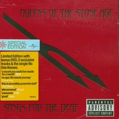 queens of the stone age songs for the deaf cd amp dvd set