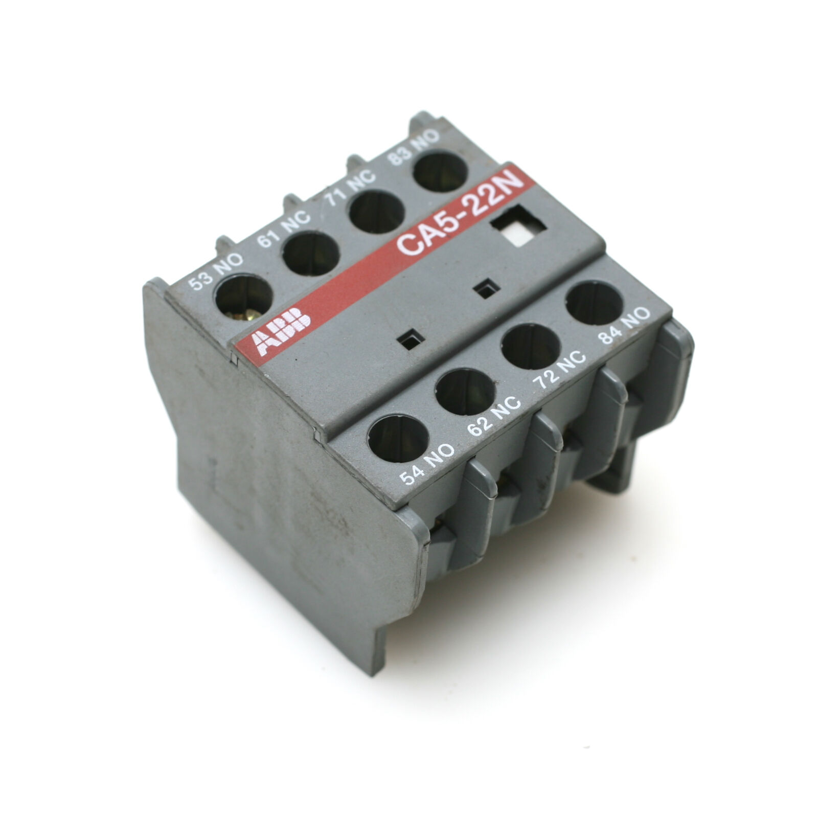 Abb Ca5 22n Relay Auxiliary Contact Block 1995 Picclick With No And Nc Contacts 1 Of 3only 4 Available