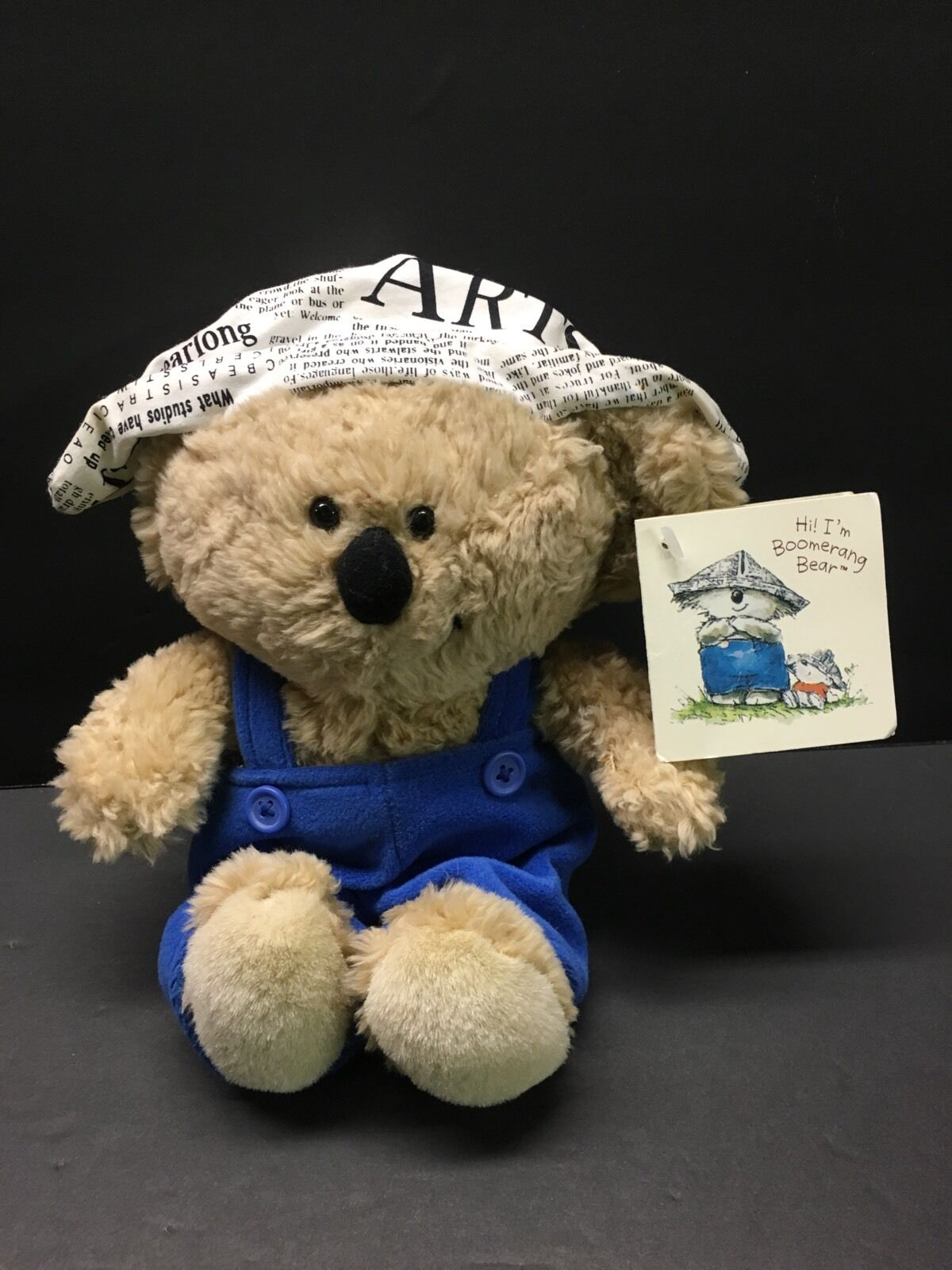 Boomerang Bear Koala Plush Doll American Greetings Cards Blue