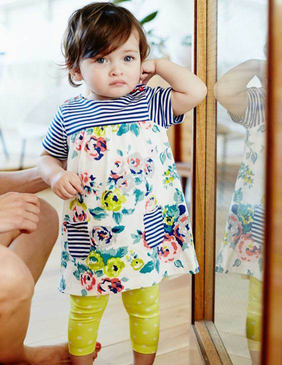 Mini boden girls baby hotchpotch jersey summer dress age 0 for Mini boden germany