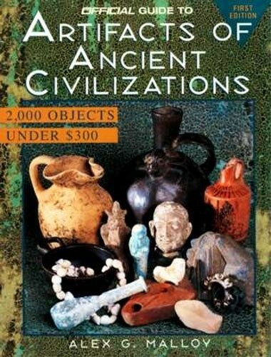 Official Guide 2000 Ancient Artifacts Classical Pre-Columbian Mesopotamia Persia