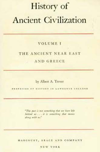 """Collectible 1936 """"History of Ancient Civilization: Ancient Near East & Greece"""""""