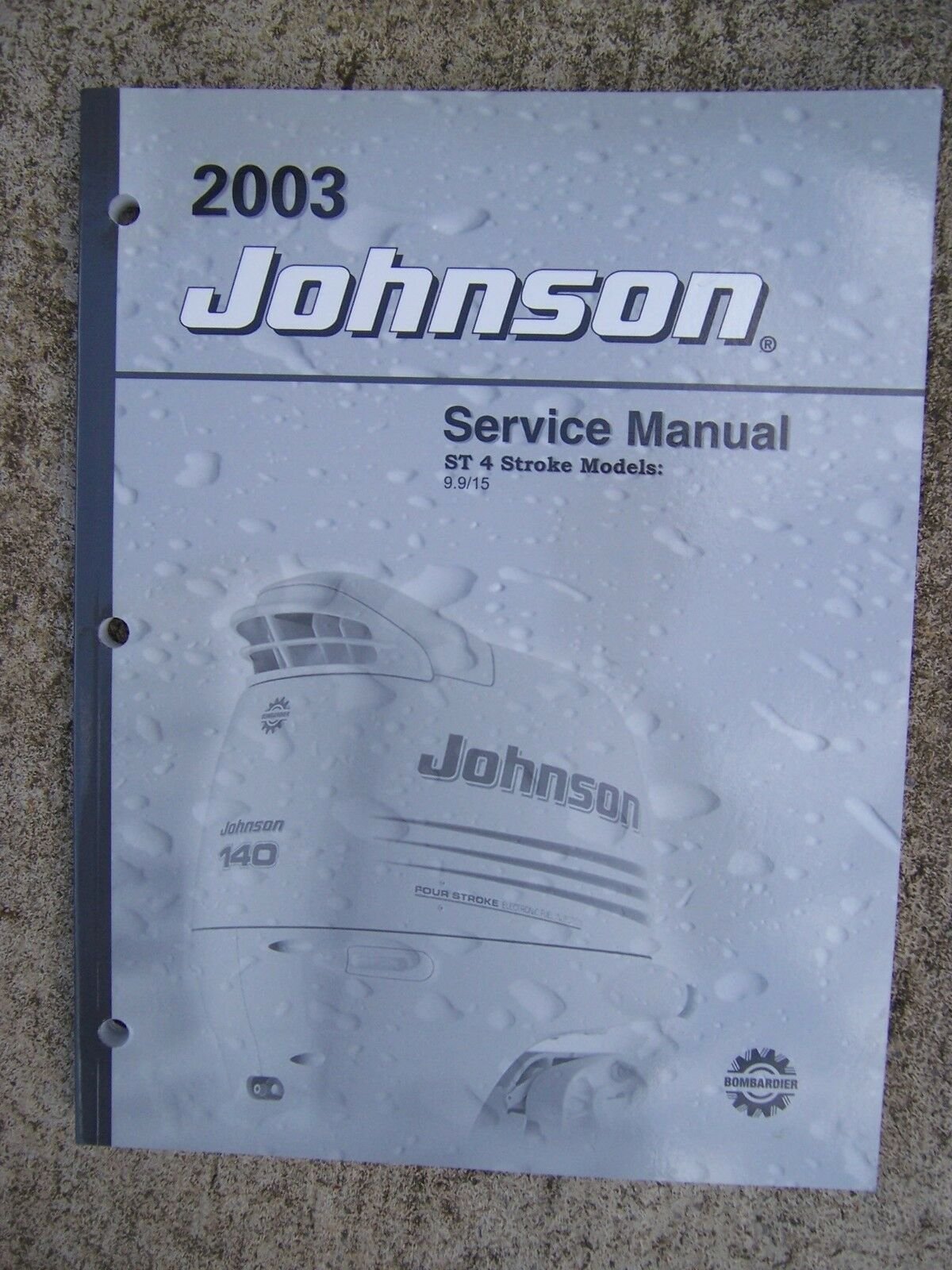 2003 Johnson Outboard Motor ST 4 Stroke 9.9 15 HP Service Manual MORE IN  STORE U 1 of 1Only 1 available ...