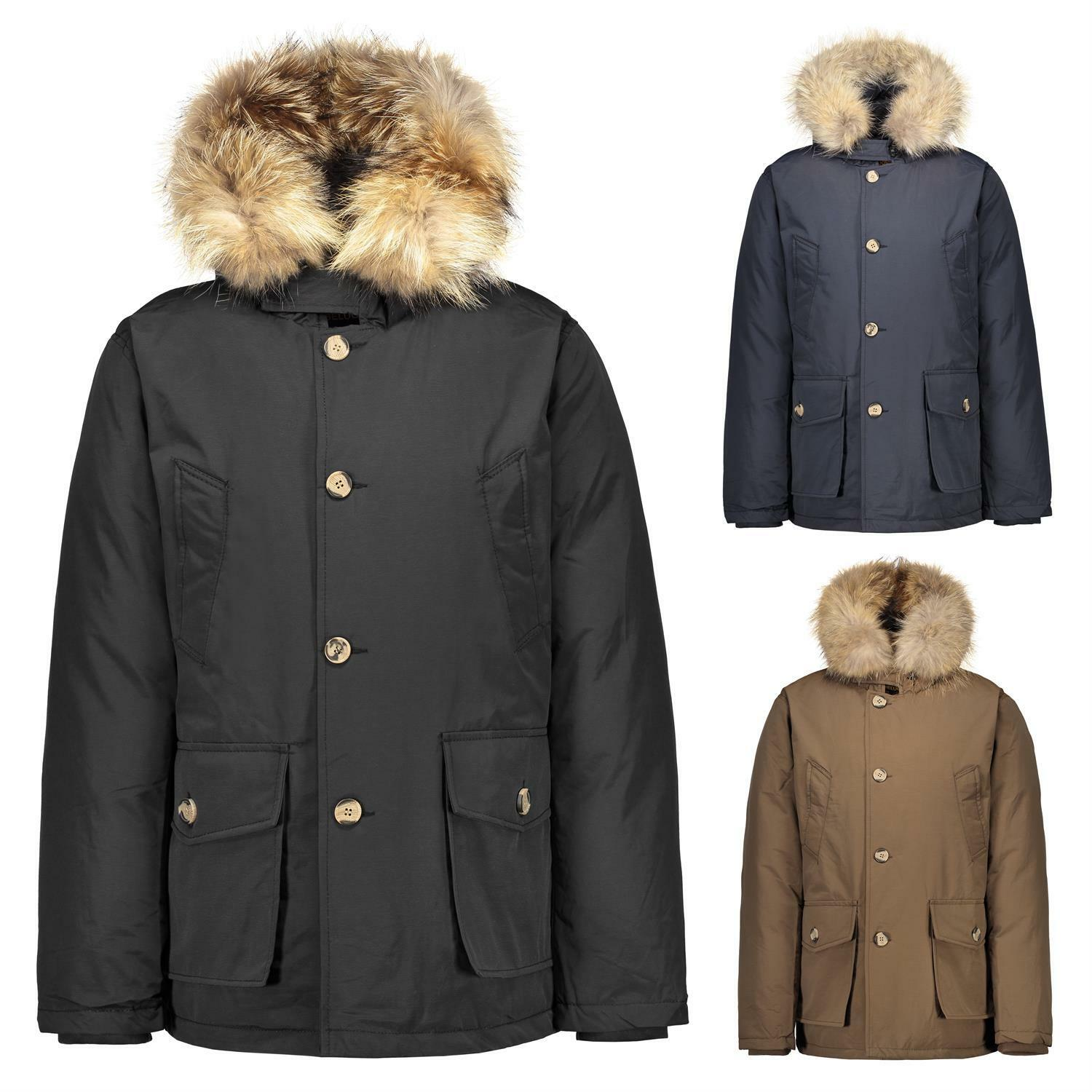 beluomo by h4f herren arctic winter parka mantel jacke. Black Bedroom Furniture Sets. Home Design Ideas