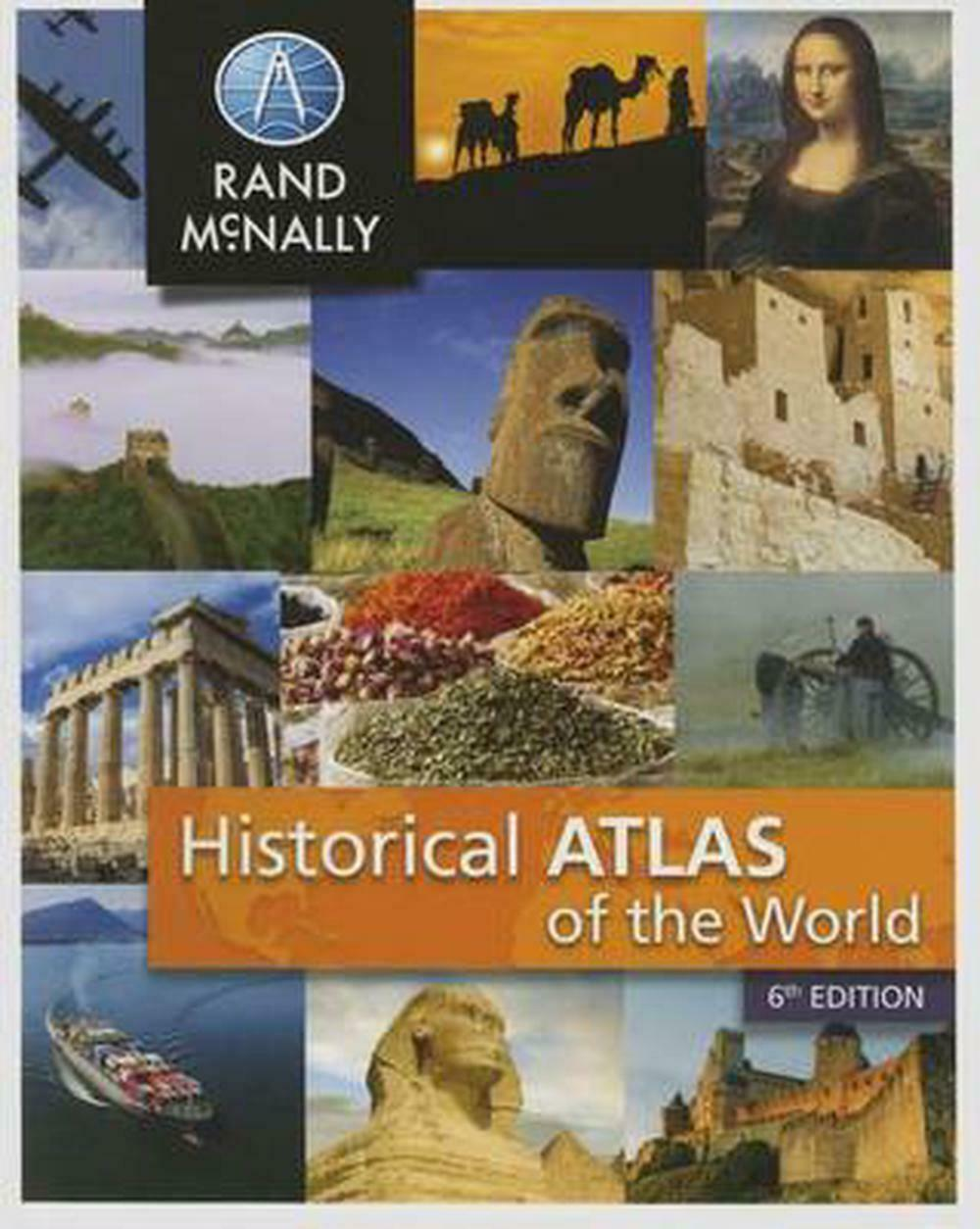 New Historical Atlas of the World (English) Paperback Book