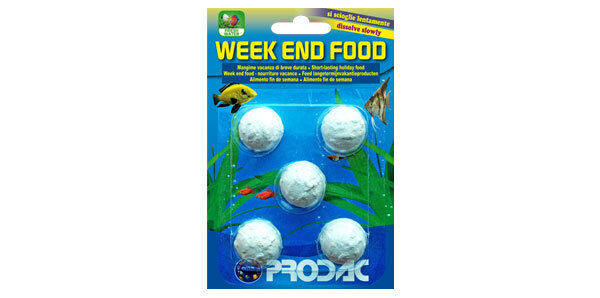 Prodac Weekend Food For Tropical And Coldwater Fish 8018189800511