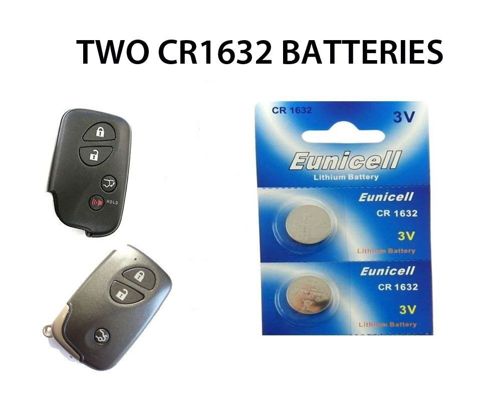 2 New Lexus Is300C Rx350 Rx450H Gs350 250 Button Remote Key Fob Batteries  Cr1632 1 Of 1FREE Shipping See More