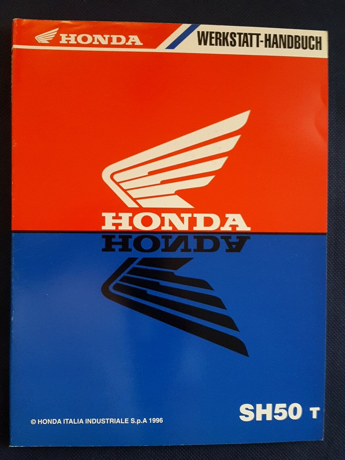 Workshop Handbook Repair Manual Honda Sh 50 T 1 of 1Only 1 available ...